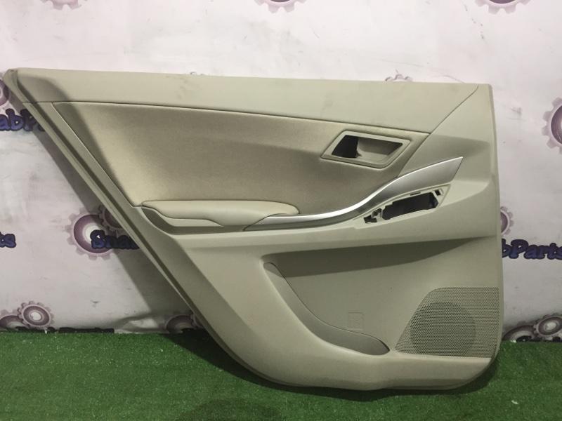 Обшивка дверей Toyota Premio ZRT265 2ZR-FAE 2011 задняя левая