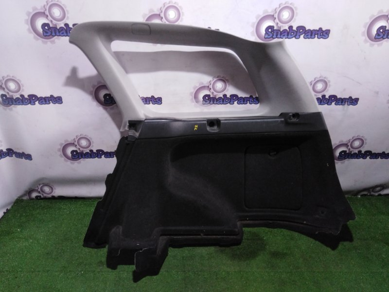 Обшивка багажника Toyota Fielder NZE124 1NZ-FE 2005 задняя правая