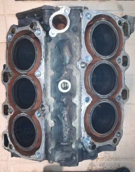 Блок цилиндров Mazda Telstar GE5PF