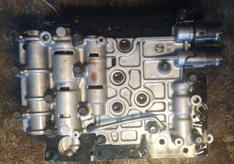 Блок соленоидов Mazda Mpv LW5W