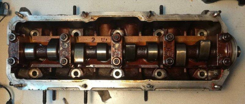 Головка блока цилиндров Audi A3 A32