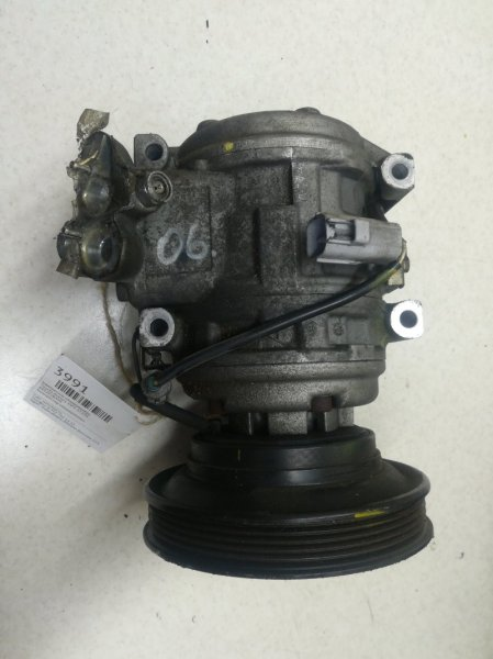 Компрессор кондиционера Toyota Avensis ST220 3SFE