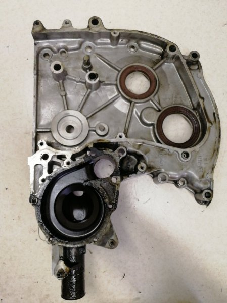 Лобовина двигателя Toyota Chaser MX83 7MGE задняя
