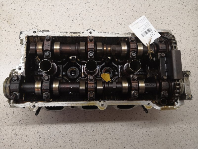 Головка блока цилиндров Hyundai Santa Fe G6BA левая