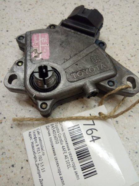 Датчик положения селектора акпп Toyota Corolla AE101L 4AFE