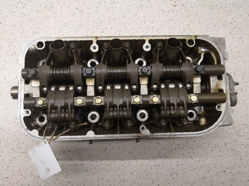 Головка блока цилиндров Honda Inspire UA4 J25A правая