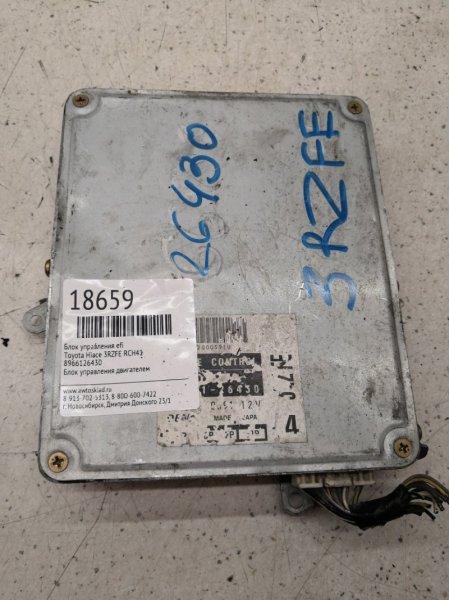 Блок управления efi Toyota Hiace RCH41 3RZFE