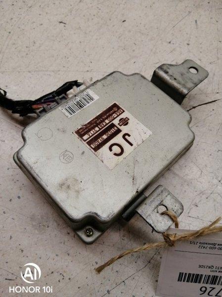 Блок управления кпп Nissan Teana TNJ31 QR25DE