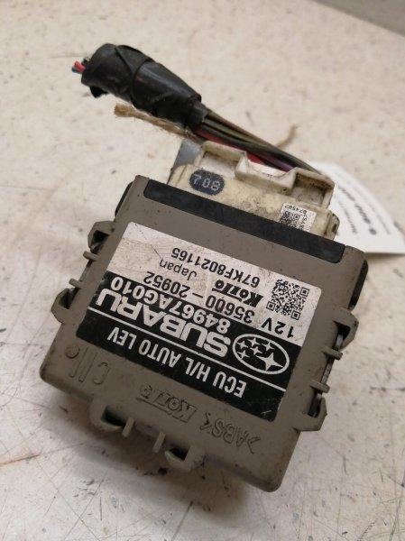 Блок управления Subaru Legacy BP9 EJ20X