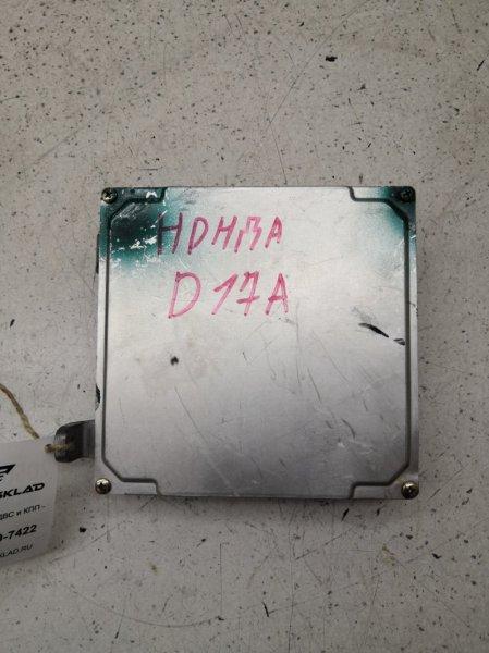 Блок управления efi Honda Stream RN1 D17A