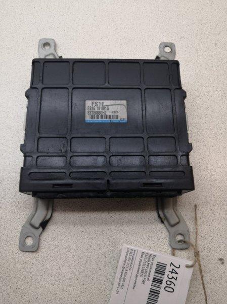 Блок управления efi Mazda Mpv LW5W FSDE