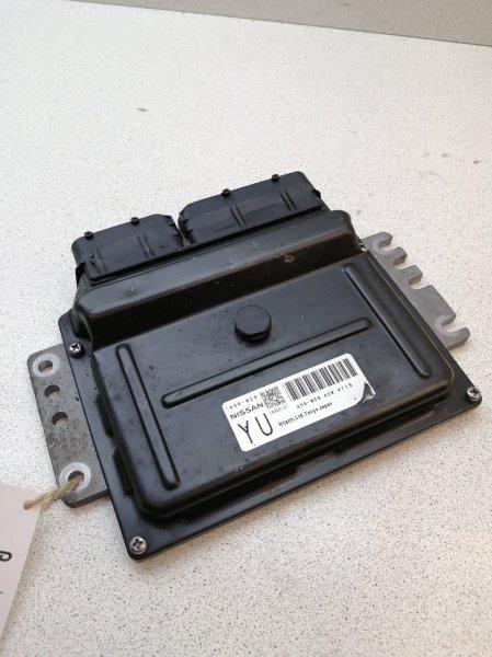 Блок управления efi Nissan Bluebird Sylphy QNG10 QG18DE