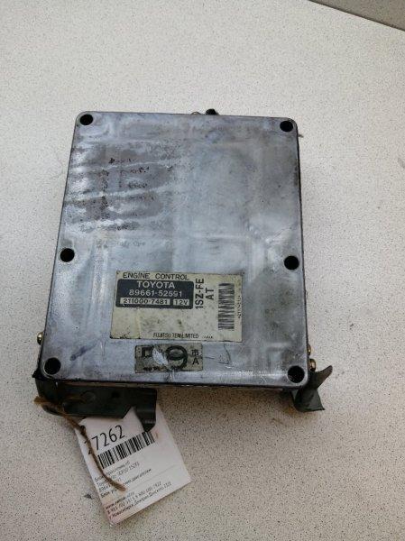 Блок управления efi Toyota Vitz SCP10 1SZFE