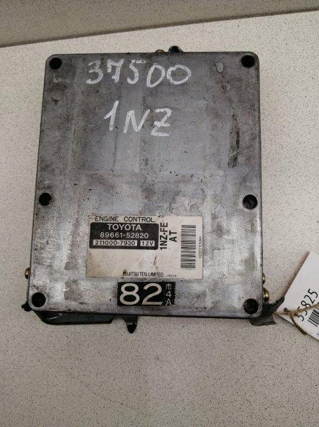 Блок управления efi Toyota Bb NCP35 1NZFE