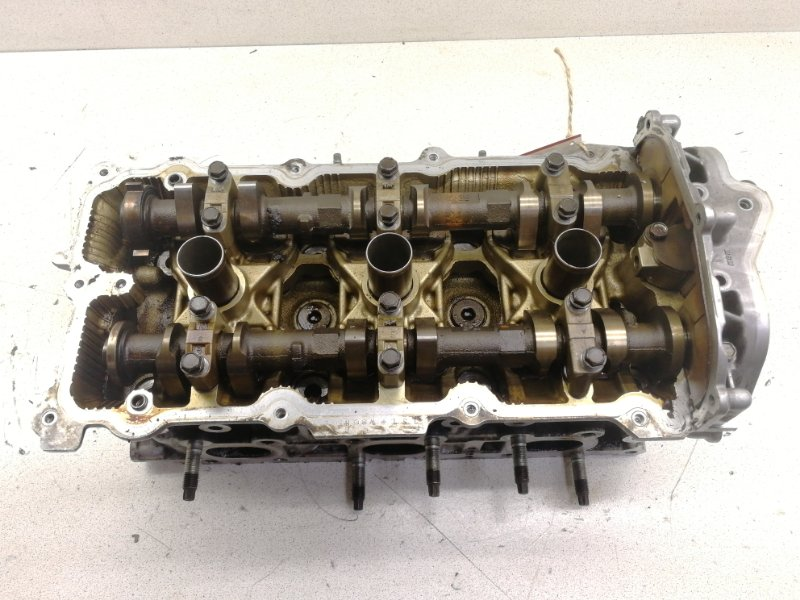 Головка блока цилиндров Nissan Fuga PNY50 VQ35HR правая