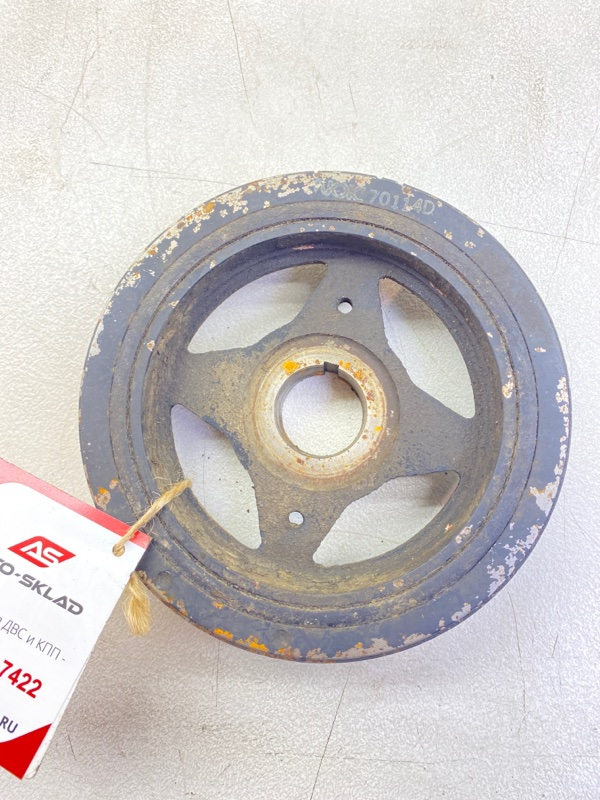 Шкив коленвала Nissan Lafesta B30 MR20DE