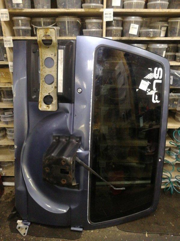 Дверь Mitsubishi Pajero V55W 4M40 задняя