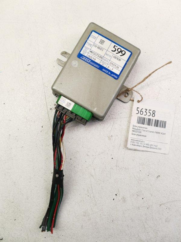 Блок управления Mitsubishi Chariot Grandis N84W 4G64