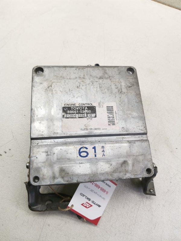 Блок управления efi Toyota Porte NNP15 1NZFE
