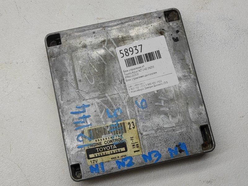 Блок управления efi Toyota Allion NZT240 1NZFE