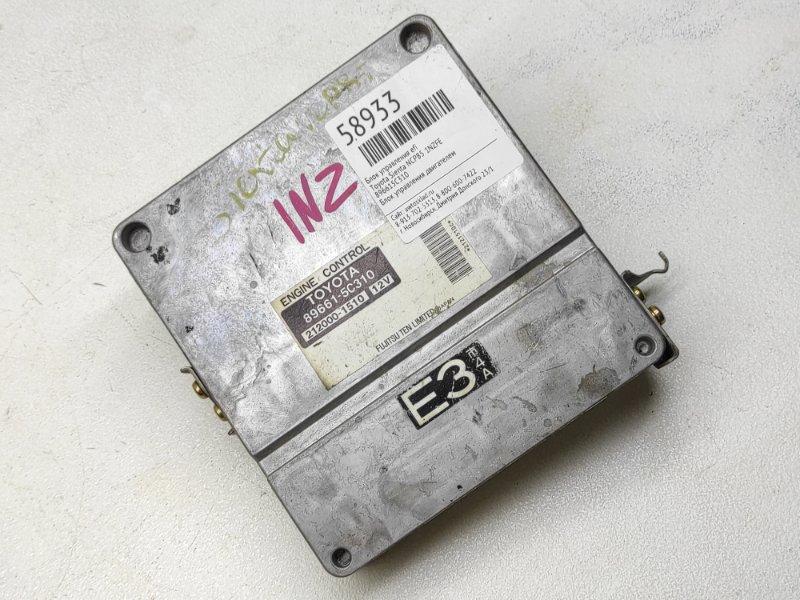 Блок управления efi Toyota Sienta NCP85 1NZFE