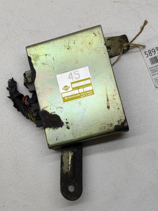 Блок управления efi Nissan Pulsar N14 1NZFE