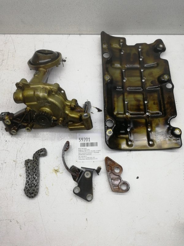 Насос масляный Honda Cr-V RD6 K24A