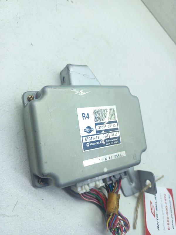 Блок управления кпп Nissan Serena TC24 QR20DE