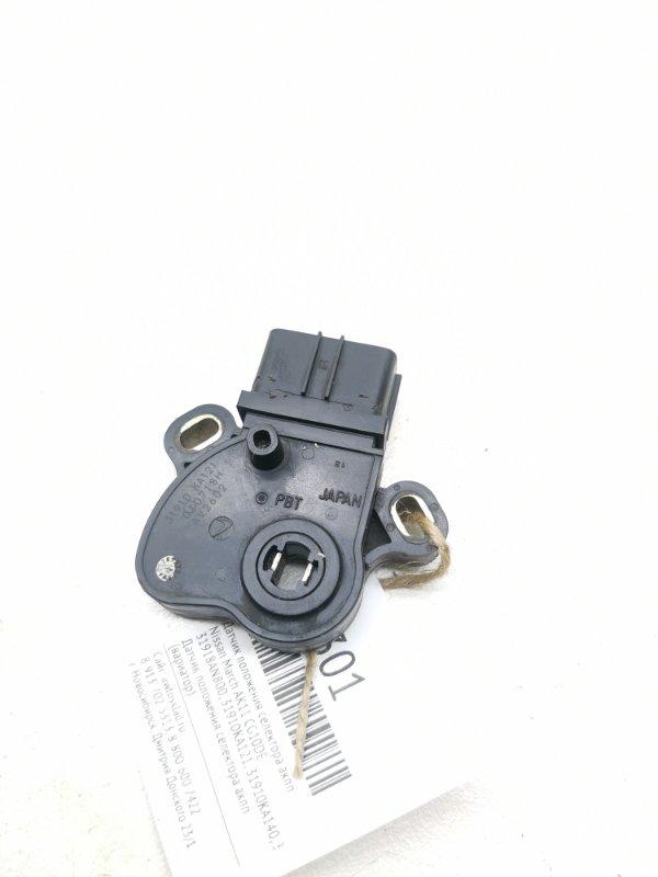Датчик положения селектора акпп Nissan March AK11 CG10DE