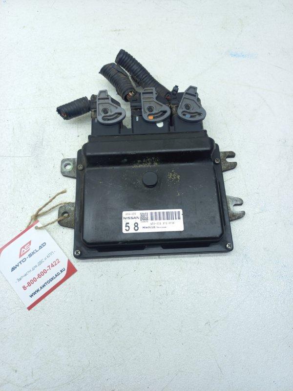 Блок управления efi Nissan Lafesta B30 MR20DE