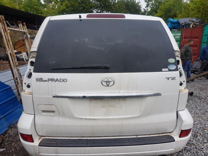 Дверь 5 Toyota Land Cruiser Prado GRJ121 1GR-FE 2008 задняя