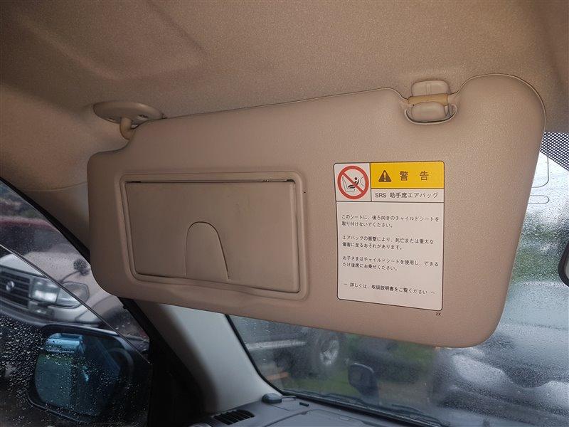 Козырек солнцезащитный Suzuki Grand Vitara TD54W J20A 2007