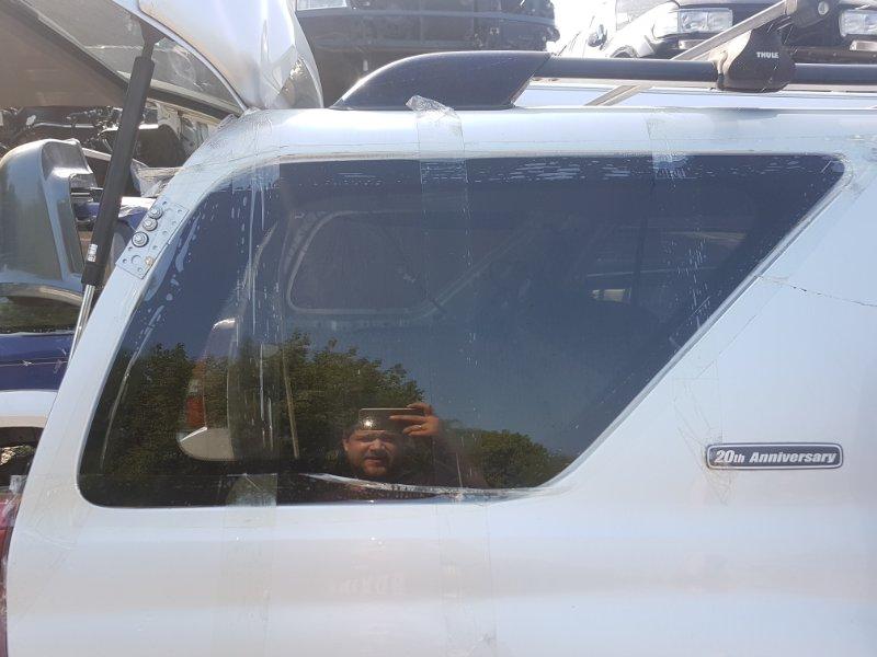 Стекло собачника Toyota Surf TRN215 2TR-FE 2005 заднее правое