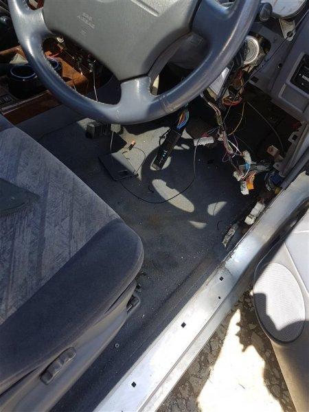 Ковер пола Toyota Land Cruiser Prado KZJ95 1KZ-TE 1997
