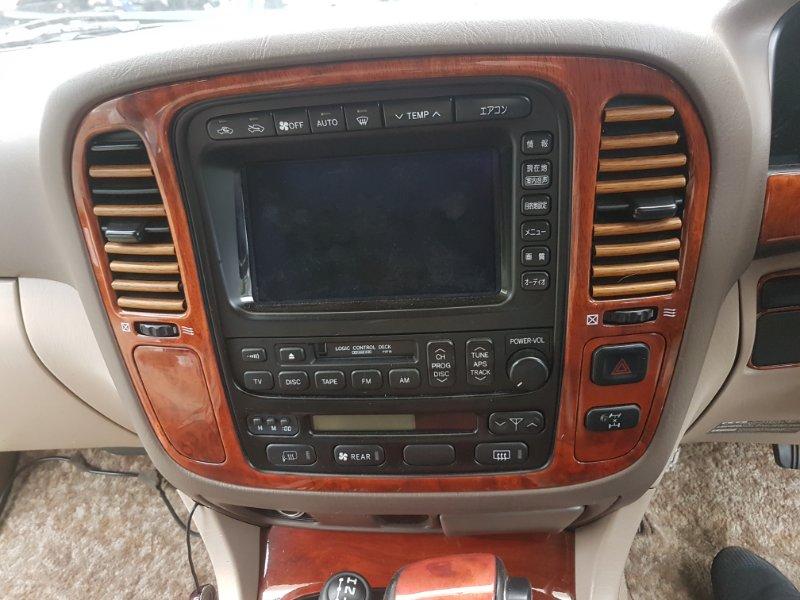 Центральная консоль Toyota Land Cruiser Cygnus UZJ100 2UZ-FE 2000