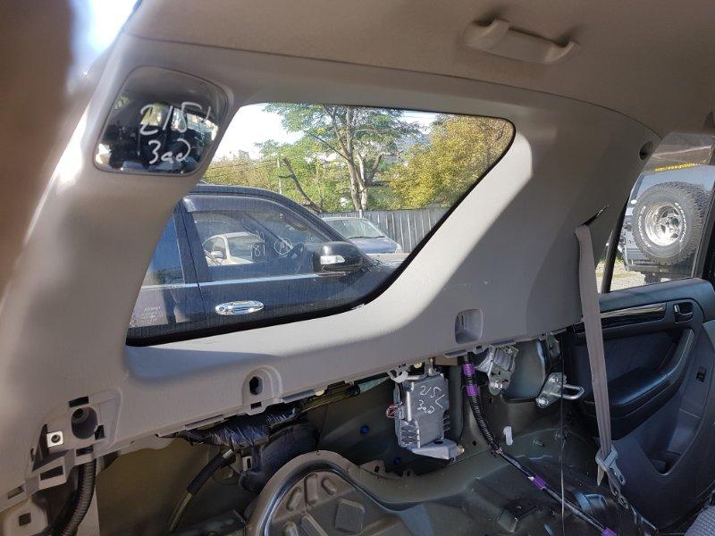Обшивка багажника Toyota Hilux Surf TRN215 2TR-FE 2008 задняя левая верхняя