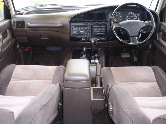 Пластик салона Toyota Land Cruiser 80