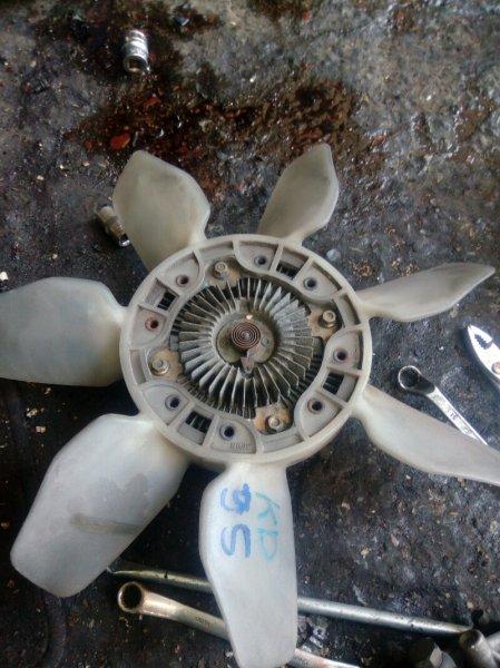 Вентилятор с вязкостной муфтой Toyota Land Cruiser Prado KDJ95 1KD
