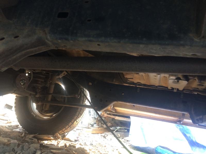 Глушитель Toyota Land Cruiser Prado KZJ95 1KZ