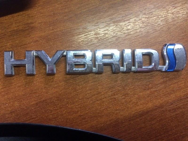 Эмблема Toyota C-Hr NGX10