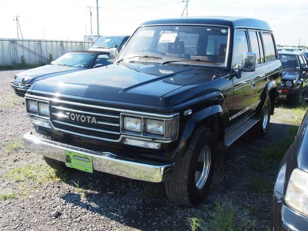 Стекло собачника Toyota Land Cruiser HJ61 левое