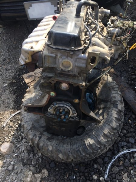 Головка блока цилиндров Nissan Safari TB42