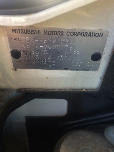 Акпп Mitsubishi Pajero V87W 6G75 2006
