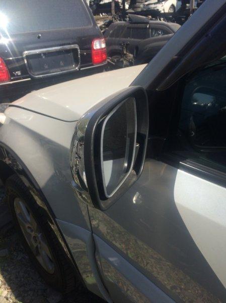 Зеркало Mitsubishi Pajero V87W 6G75 2006 левое