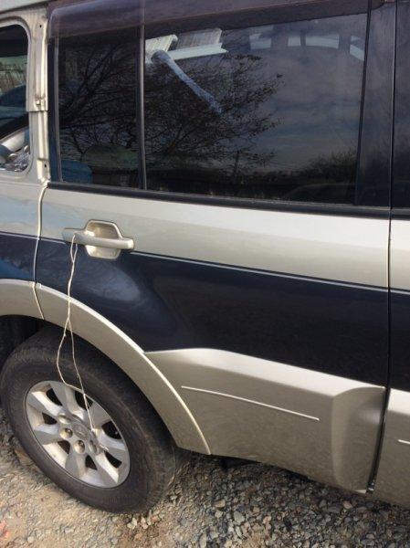 Дверь Mitsubishi Pajero V98W 4M41 задняя правая