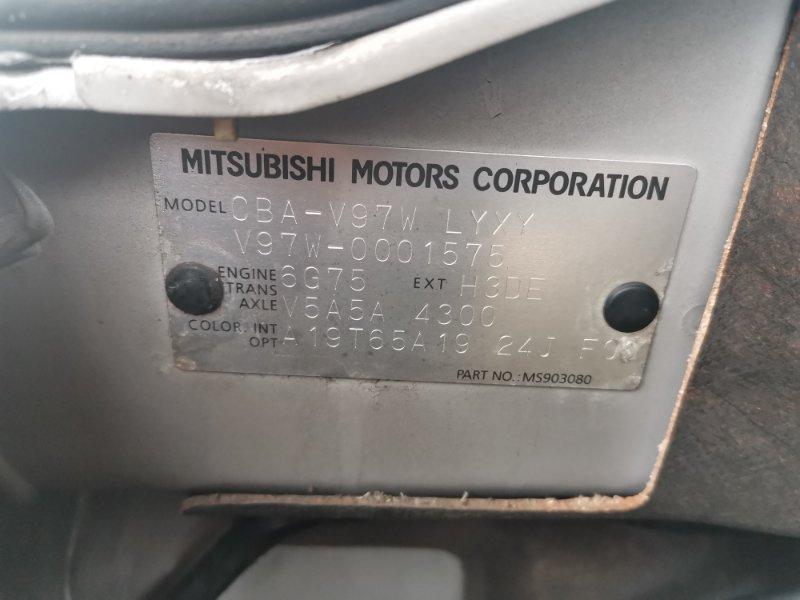 Акпп Mitsubishi Pajero V97W 6G75