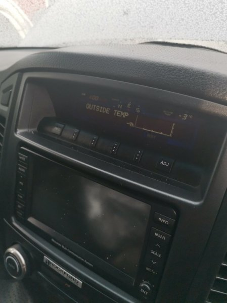 Кренометр Mitsubishi Pajero V97W 6G75