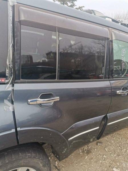 Дверь Mitsubishi Pajero V97W 6G75 задняя правая