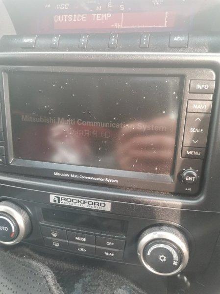 Магнитофон Mitsubishi Pajero V97W 6G75