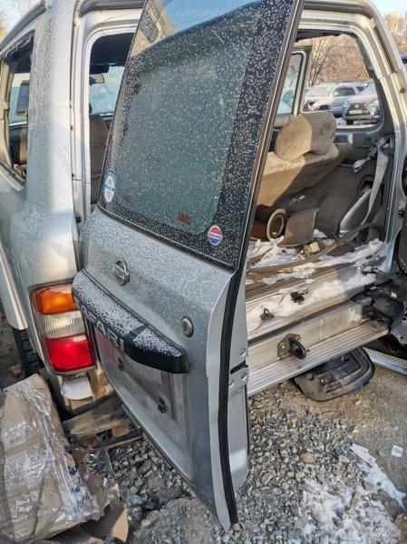 Дверь 5 Nissan Safari WTY61 ZD30 задняя левая